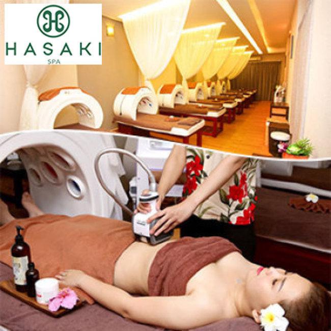 Gói 02 Người - 5 Lần Giảm Béo Chuyên Sâu Vùng Bụng Sline Phong Cách Hawaii Độc Quyền Tại Hệ Thống 4 CN Hasaki Beauty Spa