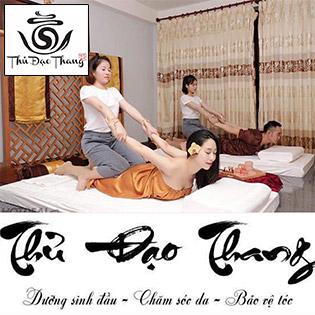 Thủ Đạo Thang – 90' Massage Body Chải Thông Kinh Lạc/ Bài Độc Vùng Đầu Điều Trị Cơ Thể Chuyên Sâu/ Tắm Tẩy Dưỡng Tại Quế Spa