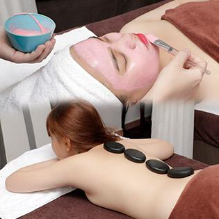 Buffet Spa – 3 Combo Chạy Vitamin C + Mặt Nạ/ Massage Body Đá Nóng/ Tắm Dưỡng Sáng Da + Đắp Parafin Tại Jolie Spa