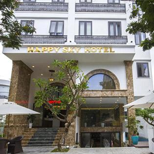 Khách Sạn Happy Sky 3* Đà Nẵng 2N1Đ – Không Phụ Thu Cuối Tuần – Miễn Phí Hồ Bơi