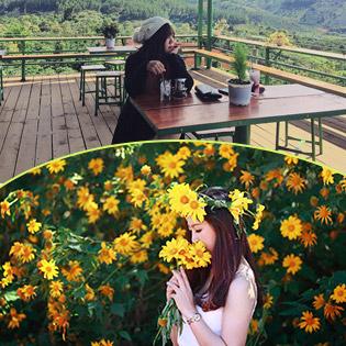 """Tour Đà Lạt 2N2Đ Giá Siêu Hot - Cổng Trời """"Lạc Trôi"""" – Làng Hoa Vạn Thành – Cà Phê Mê Linh"""
