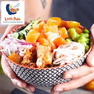 Áp Dụng Lễ, Tết - Combo Poke Vegettarian 03 Món Tự Chọn Theo Sở Thích Của Bạn - Nhà Hàng Let's Poke