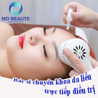 Miễn Tip - 15 Bước 90 Phút Điều Trị Mụn Chuyên Sâu + Trị Thâm Chuẩn Y Khoa Bởi Bác Sĩ Chuyên Khoa Da Liễu - TMV MD Beaute