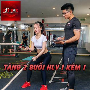 Hệ Thống Gym FitBox Phòng Tập 5* - Trọn Gói 1 Tháng Tập Gym, Kick Boxing Không Giới Hạn - Tặng 2 Buổi HLV Cá Nhân 1 Kèm 1