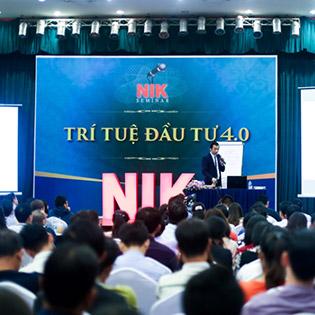 NIK Tài Trợ Suất Học 3 Ngày Bất Động Sản 4.0 Với DG Nguyễn Thành Tiến. Hàng Ghế Ưu Tiên Và Đã Bao Gồm Tài Liệu!
