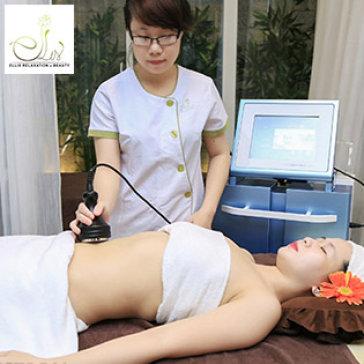 5 Lần Giảm Béo Bằng CN Cao Cavitation (Giảm 2- 5cm) Hoặc 5 Lần Massage Body (60 Phút) - Ellis Beauty