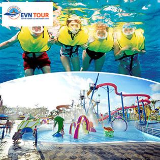 Tour TPHCM – Phú Quốc Nghỉ Resort 3* 3N2Đ – Buffet Sáng + Ăn Trưa Trên Du Thuyền - Câu Cá, Lặn Ngắm San Hô – Tham Quan Vinpear Land – Gồm VMB Khứ Hồi Cho 1 Khách
