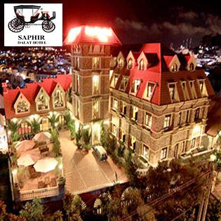 Saphir Hotel 4* Đà Lạt 2N1Đ – Buffet Sáng - Gần Chợ Đà Lạt - Áp Dụng Các Ngày Lễ