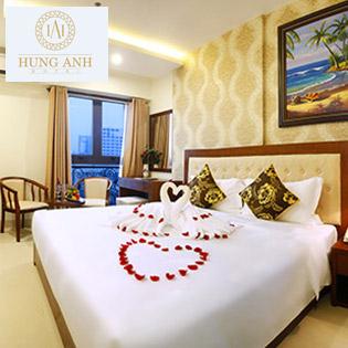 Khách Sạn Hùng Anh Tiêu Chuẩn 3 Sao Đà Nẵng – Biển  Mỹ Khê – Bao Gồm Ăn Sáng- Ko Phụ Thu Cuối Tuần - 2N1Đ Cho 02 Người
