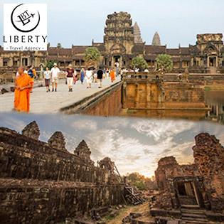 Tour Campuchia 4N3Đ Siem Reap – Phnom Penh – Khám Phá Angkor Huyền Bí – Thứ 5 Hàng Tuần