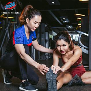 Hệ Thống Fit24 - Fitness And Yoga – Trọn Gói 5 Tuần Tập + 1 Buổi HLV Cá Nhân Theo Tiêu Chuẩn Số 1 Châu Âu