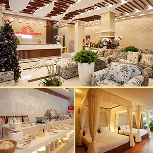 Anh Đào Mekong 2 Hotel 3* Cần Thơ 2N1Đ Phòng Standard – Gồm Ăn Sáng – Sử Dụng Hồ Bơi – Không Phụ Thu Cuối Tuần