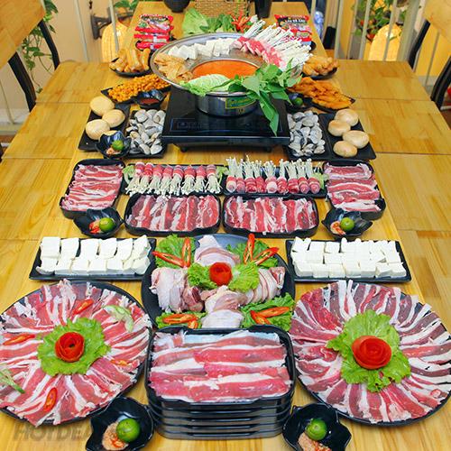 (Ngon Tuyệt Tại Royal City) Buffet Vườn - Ăn Thả Ga Không Lo Về Giá