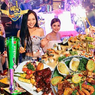 Tiệc Cực Hoành Tráng Tại RedLine Club Hot Nhất Sài Gòn - Tặng Bánh Kem Và Trang Trí Tiệc