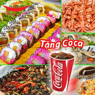 Buffet Nướng Lẩu Thả Ga - Free Coca Tại Buffet Hong Kong New 302 Cầu Giấy