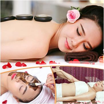 Massage Cổ Vai Gáy Kết Hợp Thông Kinh Lạc Và Chăm Sóc Da Mặt Tại Aha Spa