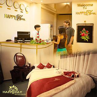 Happy Day Hotel 2 Đà Lạt - 2N1Đ – Gần Chợ Đà Lạt – Phòng Standard – Giá Cực Tốt – Không Phụ Thu Cuối Tuần.