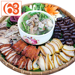 Áp Dụng Lễ, Tết - Mẹt Heo Tộc Tây Bắc 6 Món No Căng Bụng Dành Cho 2 - 4 Người - Ẩm Thực 63