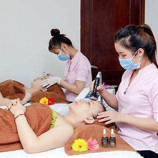 Miễn Tip - Buffet Spa - Cấy Chỉ Tơ Tằm/ Tảo Xoắn/ Hồng Sâm/ Phun Chân Mày/ Cấy Phấn - Hệ Thống Derma Medical Beauty & Spa