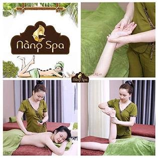 Buffet Spa – Massage Body/ Detox Da Sáng Mịn/ Thanh Tẩy Cơ Thể Tại Hệ Thống Nàng Spa & Academy