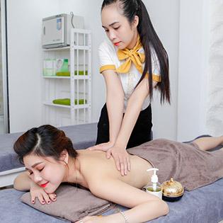 Miễn Tip - (120') Massage Body + Foot + Xông Hơi + Chạy Vitamin C + Đắp Mặt Nạ + Quấn Nóng Tan Mỡ Bụng - Thẩm Mỹ Wonhee Korea