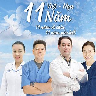 Trọn Gói Khám Mắt Với Bác Sĩ Quốc Tế Tại Bệnh Viện Mắt Việt Nga