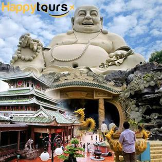 Tour 1 Ngày 1 Đêm Hành Hương Chùa Bà Châu Đốc – Núi Cấm – Chợ Tịnh Biên – Khứ Hồi Xe Giường Nằm – Áp Dụng Lễ Tết