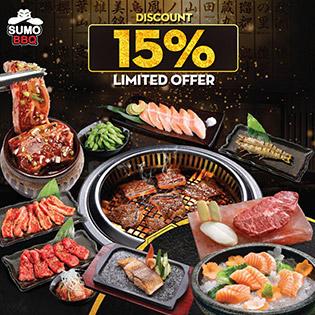Hệ Thống SumoBBQ – Buffet Premium Hơn 100 Món Nướng & Lẩu Trứ Danh Nhật Bản