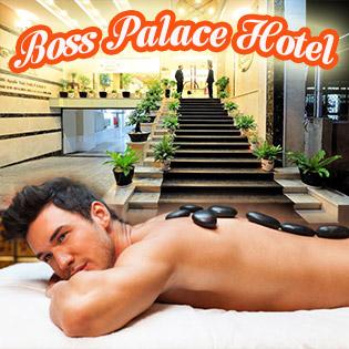 Massage Body Thư Giãn Cho Nam (70 Phút) - Hotel Boss Palace 3*