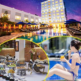 Phú Quốc Ocean Pearl Hotel 4* 2N1Đ - Miễn Phí Buffet Sáng - Tặng Set Ăn Trưa Hoặc Ăn Tối Theo Menu