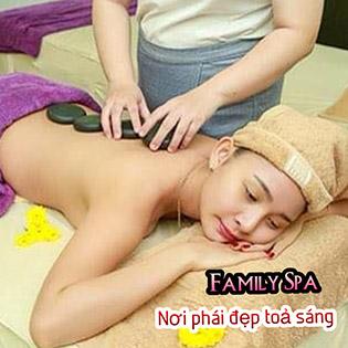 Miễn Tip - (120') Massage Body, Foot + Xông Hơi + Ngâm Chân Thảo Dược + Chăm Sóc Da, Đắp Mặt Nạ Tại Family Spa