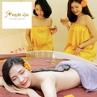 100' Massage Body Thái + Bấm Huyệt Shiatsu + Đá Nóng - Free Phun Oxy Tươi Chăm Sóc Da Mặt - Giá Ưu Đãi Chỉ Có Tại Kayla Spa