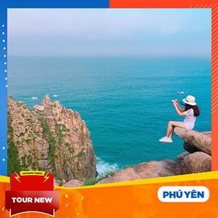 Tour Phú Yên – Đảo Hòn Nưa 3N3Đ Chuẩn 4 Sao – Ngắm Hoa Vàng Trên Cỏ Xanh – Thắng Cảnh Gành Đá Đĩa – Ăn Hải Sản Tại Bè – Có Khởi Hành Tết 2019