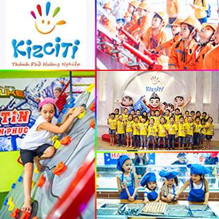 Áp dụng Tết - Vé Trọn Gói Trò Chơi Và Lễ Hội Tại Thành Phố KizCiti