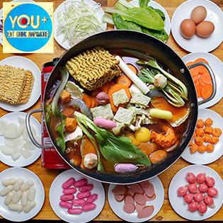 Áp Dụng Lễ, Tết - Buffet Ăn Vặt Chuẩn Vị Hàn Quốc Chỉ Có Tại You +