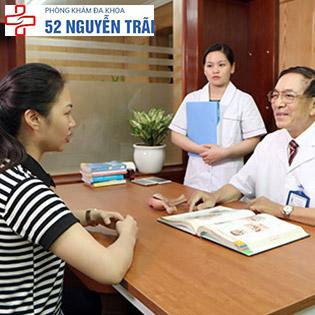 Gói Khám Viêm Nhiễm Phụ Khoa Tặng Gói Kiểm Tra Lâm Sàng Phụ Khoa Tại Phòng Khám Đa Khoa 52 Nguyễn Trãi