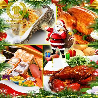 Áp Dụng Lễ - Tiệc Buffet Hải Sản Nướng Đêm Giáng Sinh 75 Món - Miễn Phí Nước Uống, Nhạc Acoustic Tại Blue Coffee Khách Sạn Tân Sơn Nhất 5*