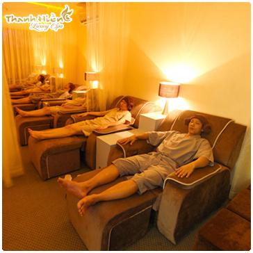 Massage Foot Bằng Tinh Dầu Và Đá Nóng - Thanh Hiền Luxury Spa
