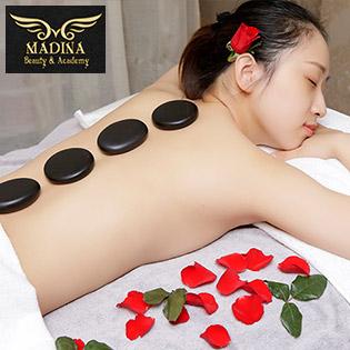 (100') Massage Body/ Điều Trị Mụn, Thâm/ Hút Chì + Chạy Vitamin C - Madina Beauty & Acaemy 5*