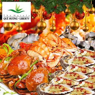 Áp Dụng Lễ, Tết - Buffet Tối 70 Món Hải Sản Nướng, Miễn Phí Nước Uống Tại Liberty Saigon Parkview Hotel