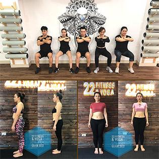 Gói Tập Trải Nghiệm Giảm Béo Tại 22 Fitness & Yoga - Yoga Bầu