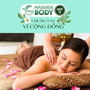 Massage Body Khiếm Thị Rainy – Chung Tay Vì Cộng Đồng