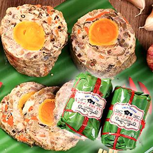 Bếp Hai Chị Em - Chả Hoa Ngũ Sắc, Giò Thủ, Pate Jambong Nhà Làm - Món Ăn Tuyệt Vời Ngày Tết