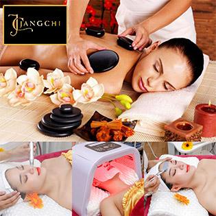 Jang Chi Spa – Massage Body Đá Nóng + Foot + Đắp Mặt Nạ/ Hút Chì Thải Độc Tố Kết Hợp Oxy Trẻ Hóa Da