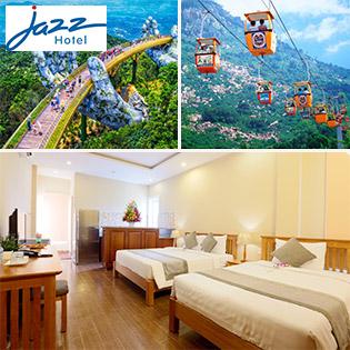 Khách Sạn Jazz 3* Đà Nẵng - Phòng Superior – Sát Biển – Gồm Ăn Sáng – Không Phụ Thu Cuối Tuần
