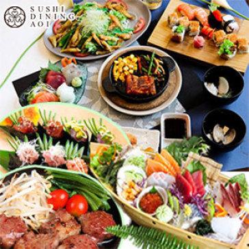 Buffet Tối Cao Cấp Hơn 100 Món Sashimi, Nướng, Lẩu & Sushi Tại Sushi Dining AOI