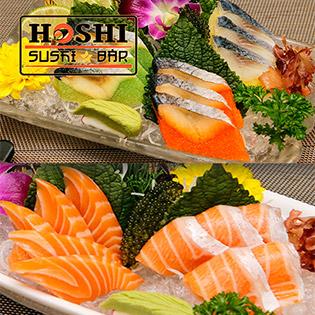 Combo Sashimi Cho 2 Người Tại Hoshi Sushi Bar - Không Phụ Thu Cuối Tuần