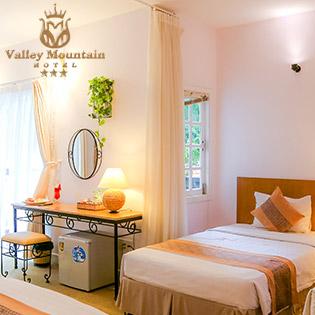 Valley Mountain Vũng Tàu 3* Hướng Biển - Phòng Standard 2N1Đ Khu C Dành Cho 2 Khách - Gồm Ăn Sáng – Hồ Bơi – Xe Đạp Đôi Miễn Phí