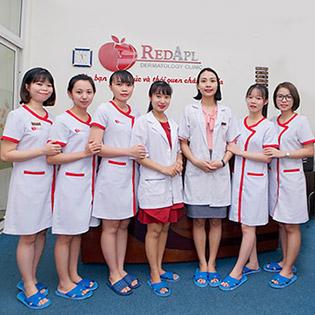Phòng Khám Da Nổi Tiếng Red Apple - Điều Trị Mụn 3 Trong 1 Sạch Mụn, Sáng Da Và Da Mịn Màng