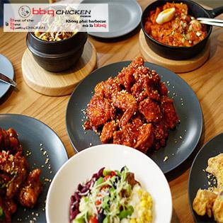 bb.q Chicken Premium – Combo Gà Hot Nhất Hàn Quốc Sử Dụng 100% Dầu Olive Chiên Gà